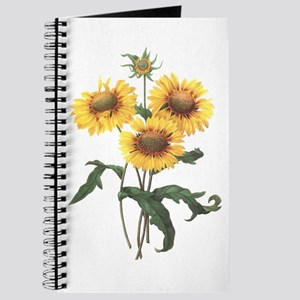 Redoute Sunflowers Journal