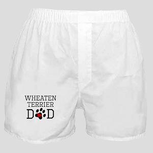 Wheaten Terrier Dad Boxer Shorts