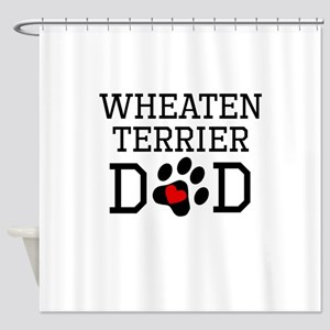 Wheaten Terrier Dad Shower Curtain