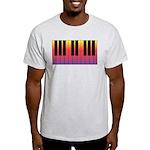 Fiery Piano Light T-Shirt