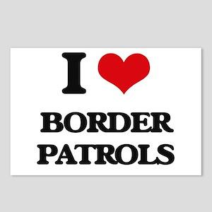 border patrols Postcards (Package of 8)