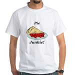Pie Junkie White T-Shirt