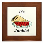 Pie Junkie Framed Tile