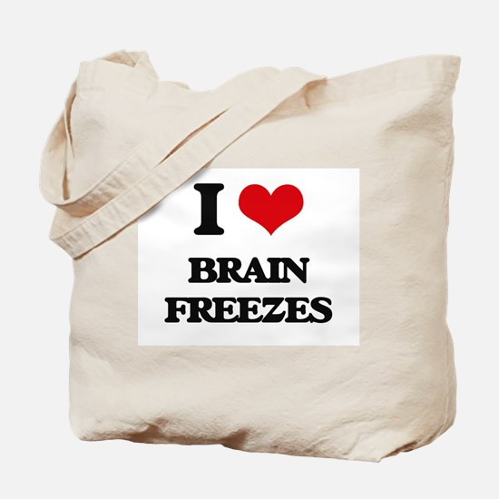 brain freezes Tote Bag