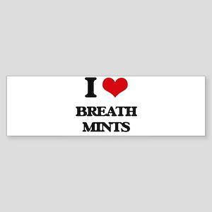 breath mints Bumper Sticker