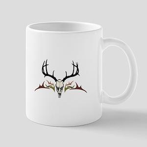TRIBAL DEER SKULL Mugs