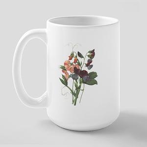 Redoute Sweetpeas Large Mug