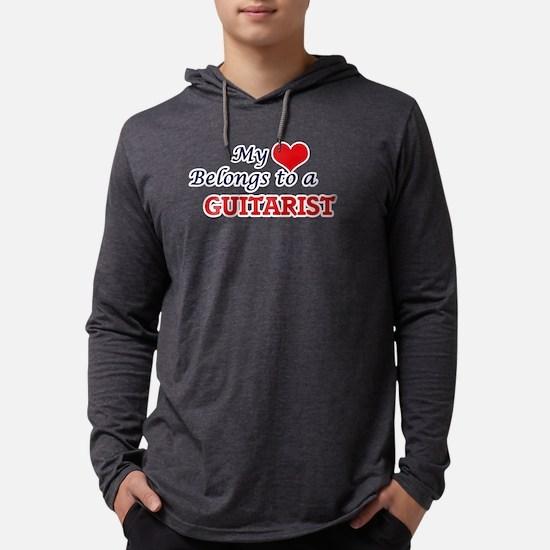 My heart belongs to a Guitaris Long Sleeve T-Shirt