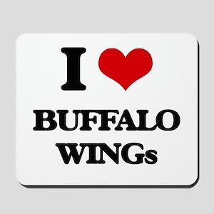 buffalo wings Mousepad