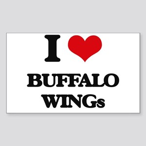 buffalo wings Sticker