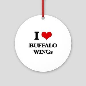 buffalo wings Ornament (Round)