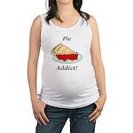 Pie Addict Maternity Tank Top
