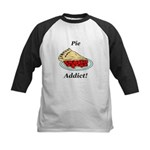 Pie Addict Kids Baseball Jersey