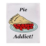 Pie Addict Throw Blanket