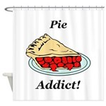 Pie Addict Shower Curtain