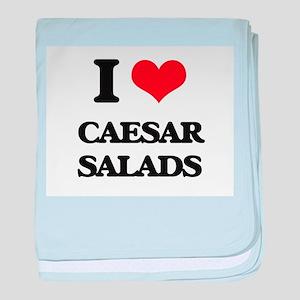 caesar salads baby blanket