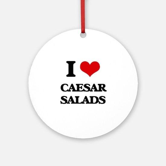 caesar salads Ornament (Round)