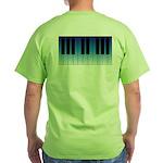 Daybreak Piano Green T-Shirt