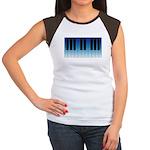 Daybreak Piano Women's Cap Sleeve T-Shirt