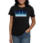 Daybreak Piano Women's Dark T-Shirt
