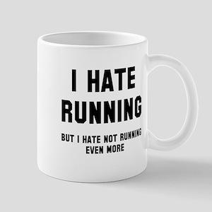 I hate running Mug