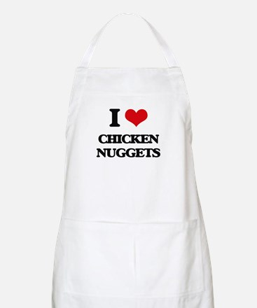 chicken nuggets Apron