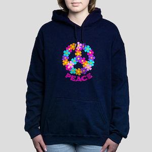 PEACE Women's Hooded Sweatshirt