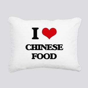 chinese food Rectangular Canvas Pillow