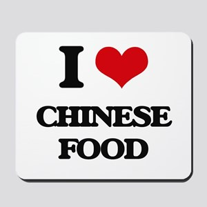 chinese food Mousepad