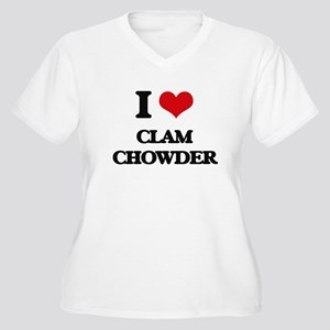 clam chowder Plus Size T-Shirt