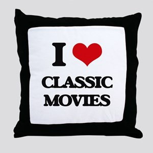 classic movies Throw Pillow