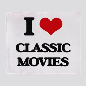 classic movies Throw Blanket