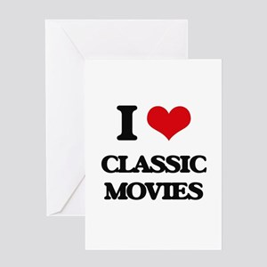 classic movies Greeting Cards