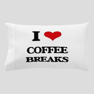 coffee breaks Pillow Case