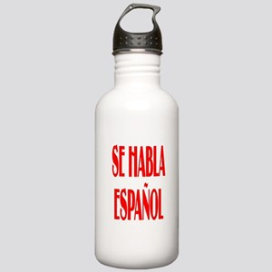 Se habla espanol Stainless Water Bottle 1.0L