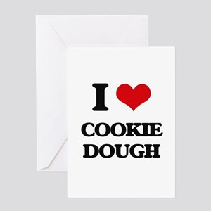 cookie dough Greeting Cards