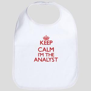 Keep calm I'm the Analyst Bib