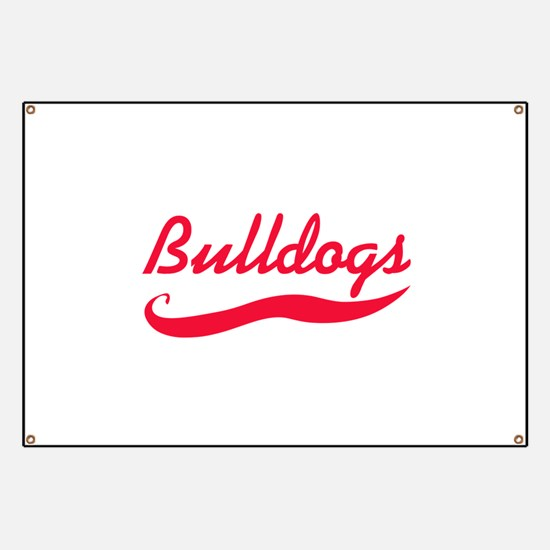 BULLDOGS TEAM Banner