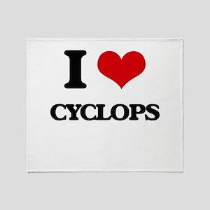 cyclops Throw Blanket
