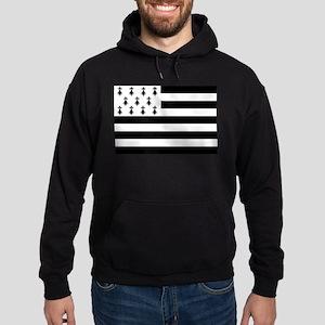 Brittany Flag Hoodie (dark)