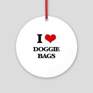 doggie bags Ornament (Round)