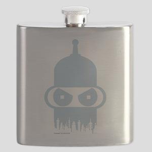 Futurama Bender City Flask