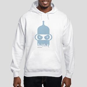 Futurama Bender City Hooded Sweatshirt