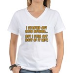 I Started With Nothing... Women's V-Neck T-Shirt