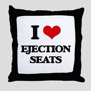 ejection seats Throw Pillow
