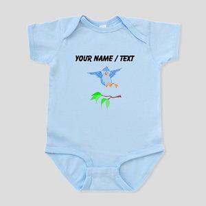 Custom Bird Landing On Branch Body Suit