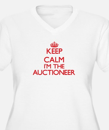 Keep calm I'm the Auctioneer Plus Size T-Shirt