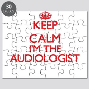Keep calm I'm the Audiologist Puzzle