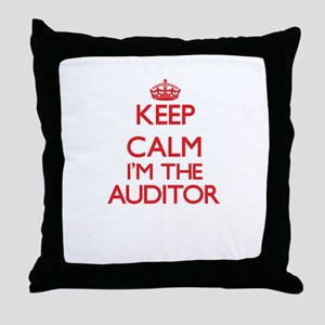 Keep calm I'm the Auditor Throw Pillow
