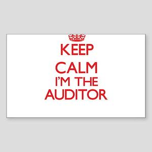 Keep calm I'm the Auditor Sticker